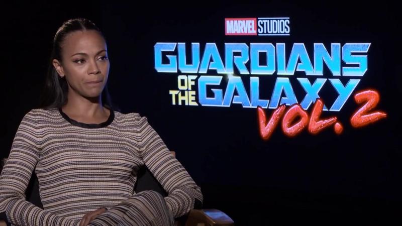 «Стражи Галактики: Часть 2»: Интервью Зои Салдана для «Screen Rant»