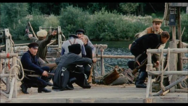 Господа офицеры. Спасти императора (2008). Бой белых с красными на реке