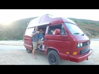 Corsica back in our lifted 2WD VW T3 Vanagon