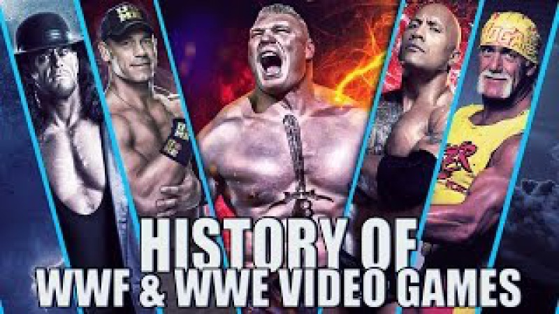 History of WWF WWE Video Games (1987-2017)