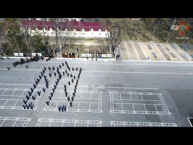 Показовий виступ Батальйону Почесна варта Національної гвардії