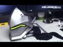 Genji Overwatch Foam Cosplay Helmet Full Build