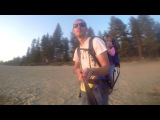 GOPRO summer time with family at Lake Tahoe. Sunset