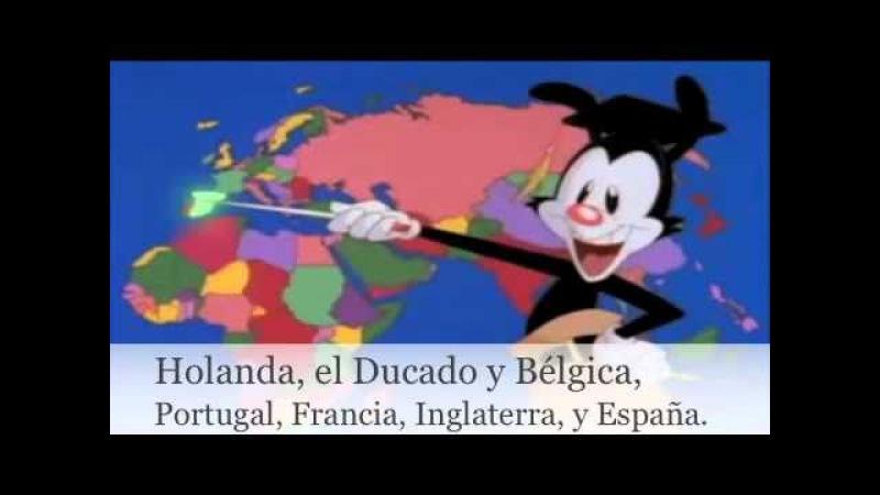 Los países del mundo con letra