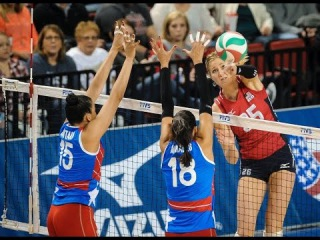 USA vs Puerto Rico | 08 Jan 2016 | 2016 NORCECA Women's Olympic Qualification