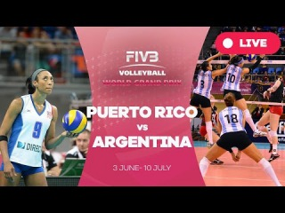 Puerto Rico v Argentina - Group 2: 2016 FIVB Volleyball World Grand Prix