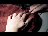 Шьем косметичку из замши, кожи или ткани (Мирьям Левентон)