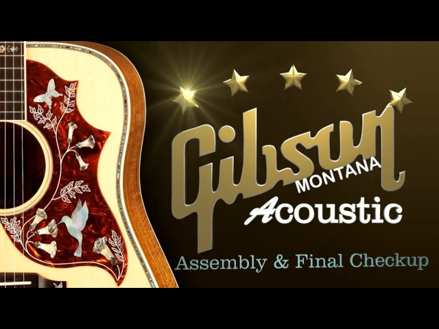 Max Guitar Store - At Gibson Montana assambly and final checkup part 4