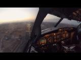 Съемка из кабины пилота