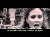 Adele - Someone Like You (Lyrics &amp Sub Espa