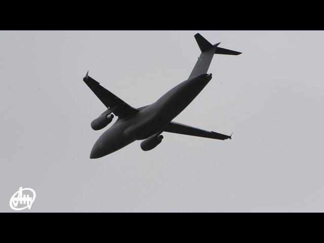 Демонстраційний політ літака АН-178Demoflight of AN-178