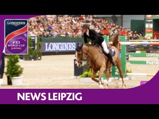 Kevin Staut misses victory by 0.17 seconds - News - Longines FEI World Cup™ Jumping - Leipzig