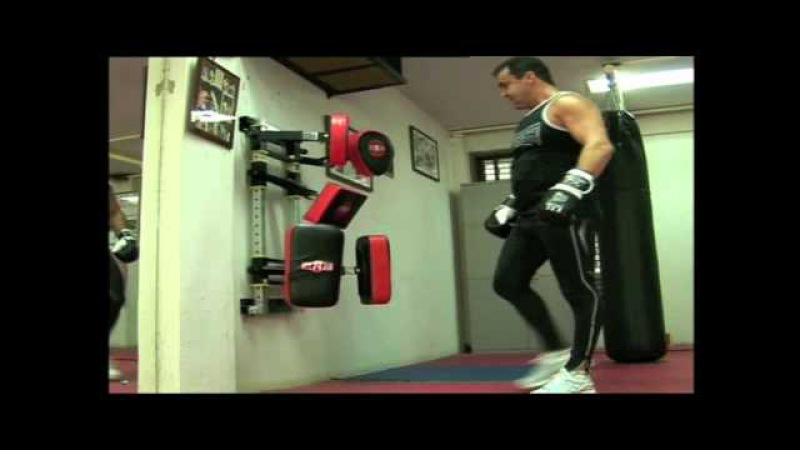 Jeff Fenech - Training with the Fitness Master
