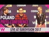 Poland Press Conference Kasia Mo