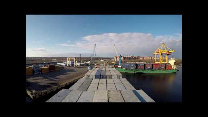 Жизнь на контейнеровозе Pictor j Living on a Container Ship