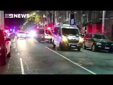 Man and woman have been shot by police at a Melbourne nightclub