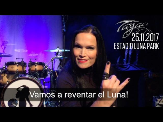 Анонс концерта Тарьи в Буэнос-Айресе, Аргентина.
