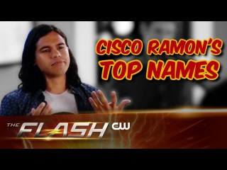 The Flash | Cisco Ramon Top Names | The CW