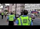 Полиция Чикаго , разгон драки на мичиган авеню