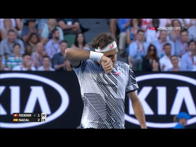 Величайшее противостояние в большом теннисе - Федерер-Надаль финал АО-2017