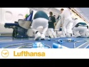 The Airbus A380 in the Works: Cabin Furnishing | Lufthansa