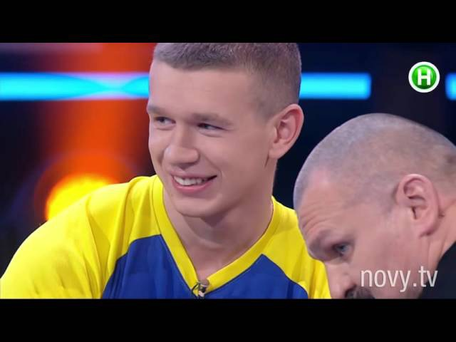 Жох против Вирастюка (Oleg Zhokh vs Strongmen Vasyl Virastyuk)
