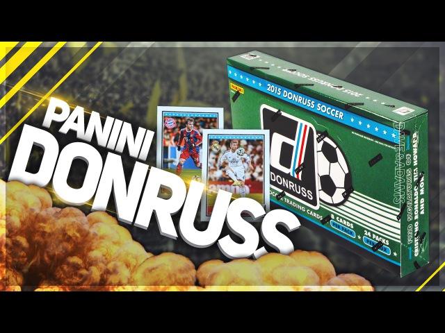 BOX OPENING 2 1/6 ✪ PANINI Donruss Soccer 2015 - Автограф