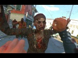 Dying Light The Following - Zombies Melee Kills &amp Shotgun Rampage Gameplay