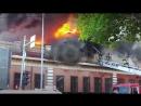 В Тюмени сильный пожар случился в здании-памятнике архитектуры 1909 года