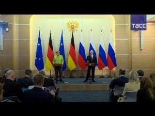 Путин: правоохранители в РФ во время протестных акций действуют мягче, чем в странах ЕС
