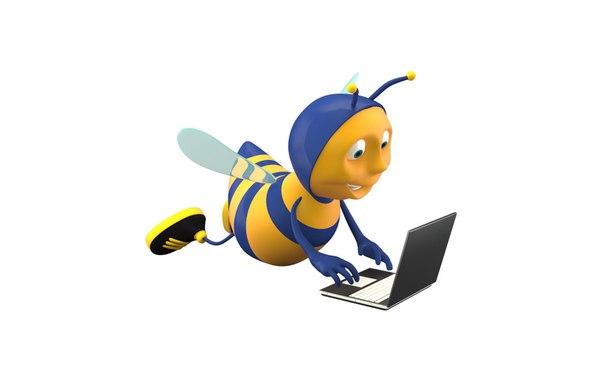 Смешная картинка пчелки труженицы, картинок