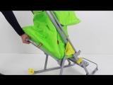 Складная коляска-санки Зима-Лето Ника