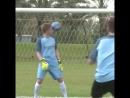 Кевин де Брёйне из «Сити» получил мячом в лобешник после роскошного пенальти от звезды Youtube