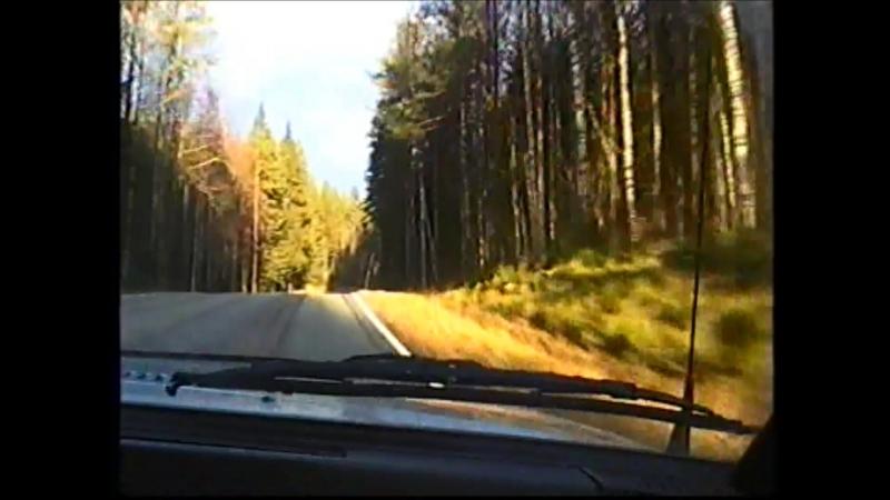 Наша самая красивая дорога из осени в зиму. (Ульяна Бирина).