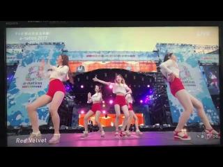 170826 Red Velvet - Dumb Dumb/RR/Rookie/Red Flavor @ A-Nation Festival in Japan