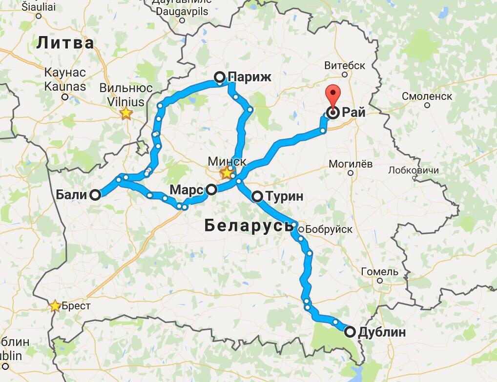 Невероятные возможности для туризма в Беларуси
