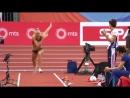 Дарья Клишина - 6,83. Чемпионат Европы в помещении 2017. Квалификация