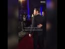 Джеймс и Джой МакЭвой на красной ковровой дорожке BAFTA Scotland Awards 2016