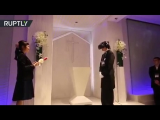 Japanese guys are marrying VR brides. There is hope for you.