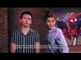 Зендаи и Том Холланд для промо «Человек-паук: Возвращение домой».