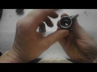 Как разобрать шаровый кран. Переходник для клапана огнетушителя.
