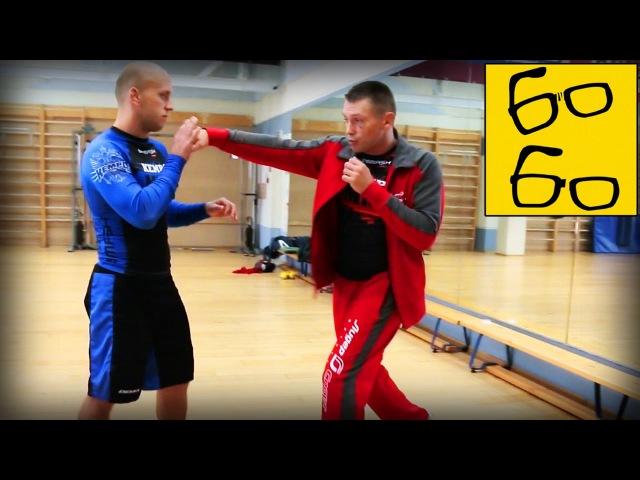 Скачковые удары в боксе с Русланом Акумовым тренировка боксерских ударов на скачке
