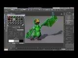 Ornatrix 3dsmax Feathers Part 4 (Texturing)