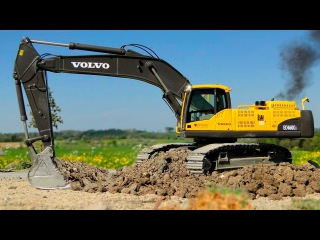 New Cartoons for children - The Excavator - Construction Vehicles Kids Video Compilation