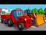 Video Compilation about Children's Tractors  Wideo Kompilacja o Traktorach dla dzieci 2017