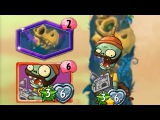 Plants vs Zombies Heroes - Hunting Grounds Gameplay (Almost Finished) with Kitchen Sink Zombie