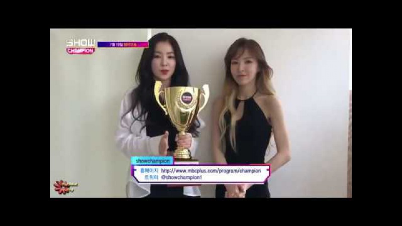 170719 Show Champion @Red Velvet 레드벨벳_ (Red Flavor) 1st win