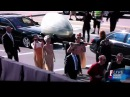 Lady Gaga arrives at 2011 Grammys in an egg!! EPIC! Unedited footage