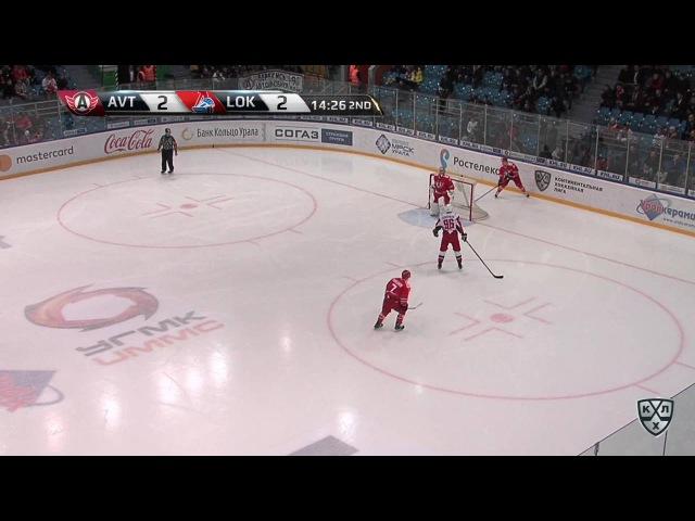 КХЛ (Континентальная хоккейная лига) - Моменты из матчей КХЛ сезона 16/17 - Гол. 2:3. Чистов Станисл