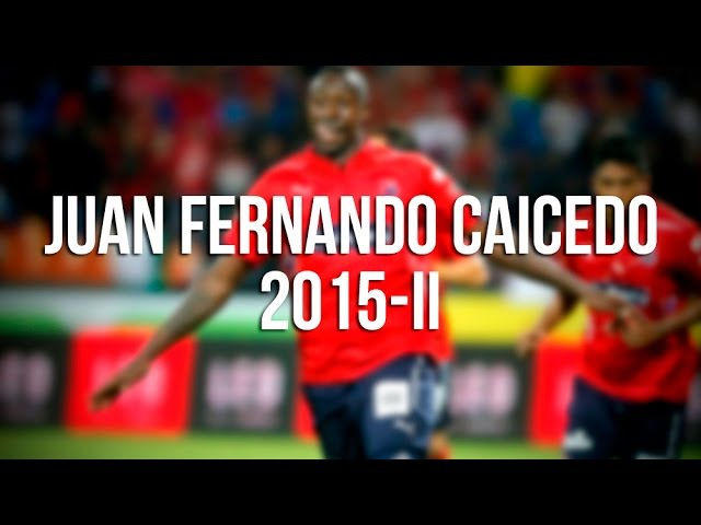 Juan Fernando Caicedo 2015-II